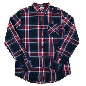 Levi's Plaid Button Down Long Sleeve Shirt Small